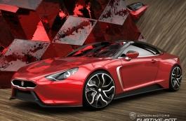Tesla对手法国电动跑车百公里3.5s